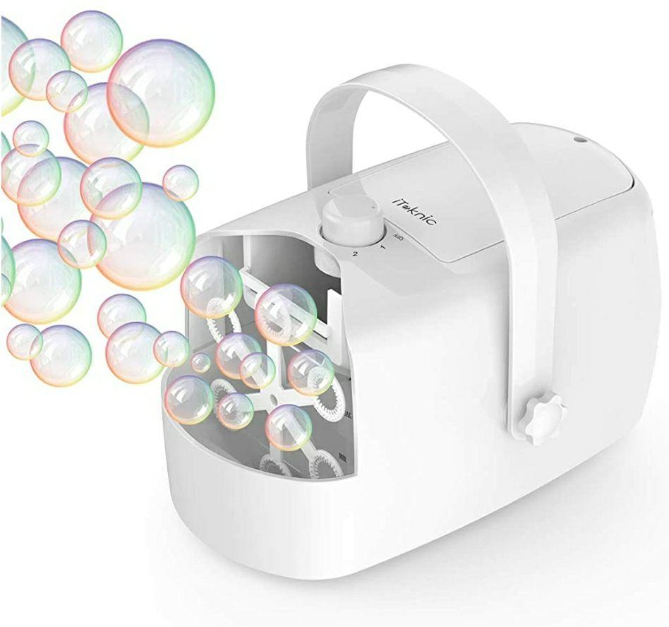 Maquina de Burbuja Portátil
