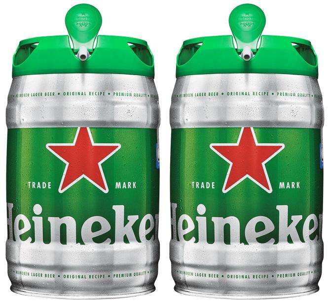 2x1 en barriles Heineken y Desperados 5L con grifo