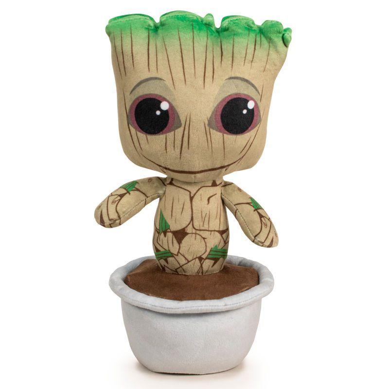 Peluche Marvel Groot bebé 30 cm oficial