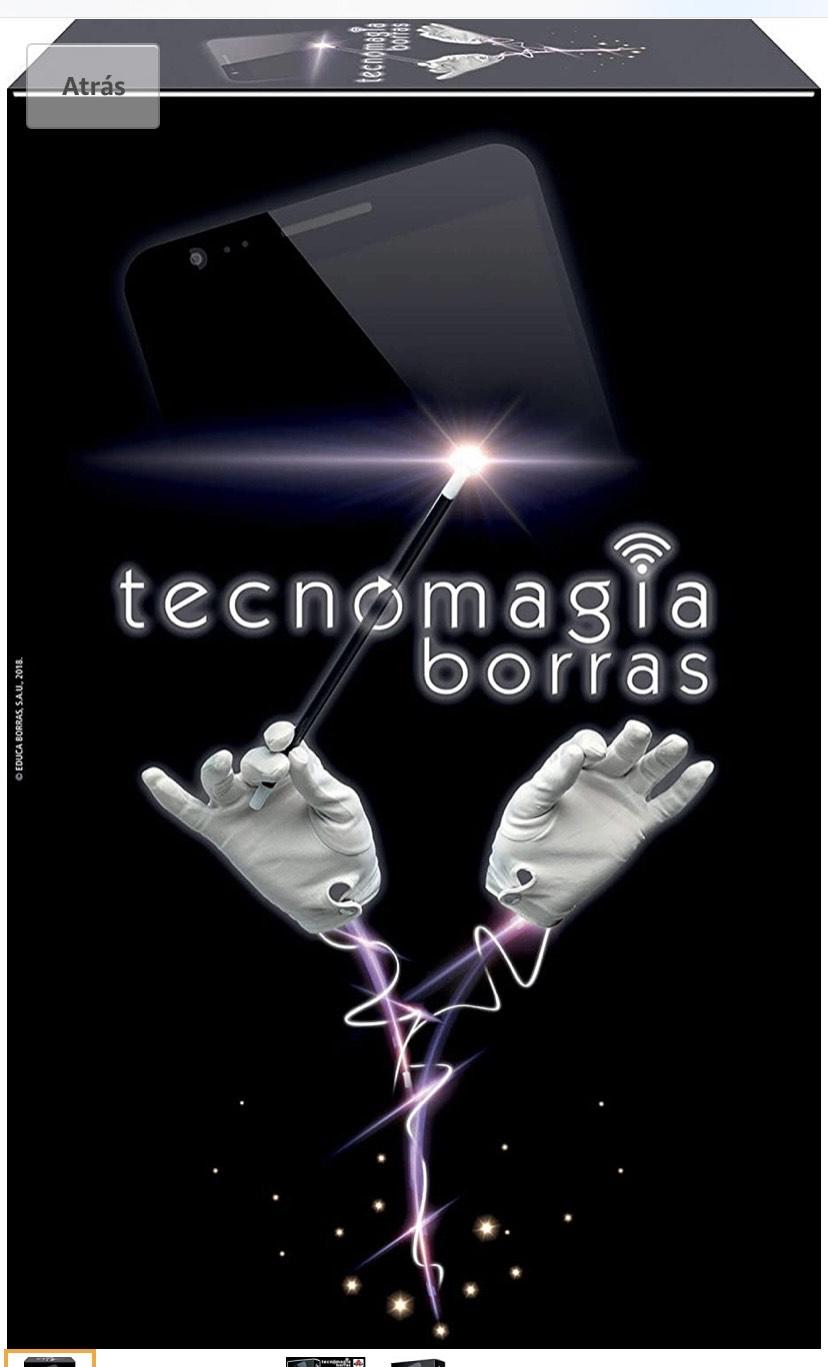 Borras - Tecnomagia, con diversos trucos de magia, App exclusiva disponible en Android y IOS,