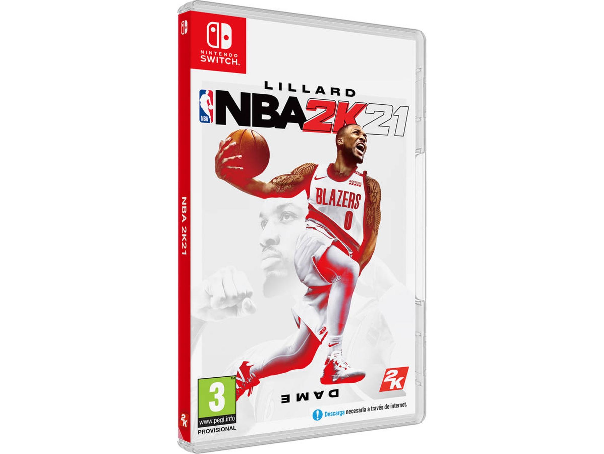 NBA 2K21 - Nintendo Switch (Recogida gratuita en tienda)