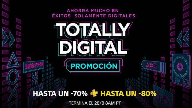 Promoción Totalmente Digital PlayStation Store