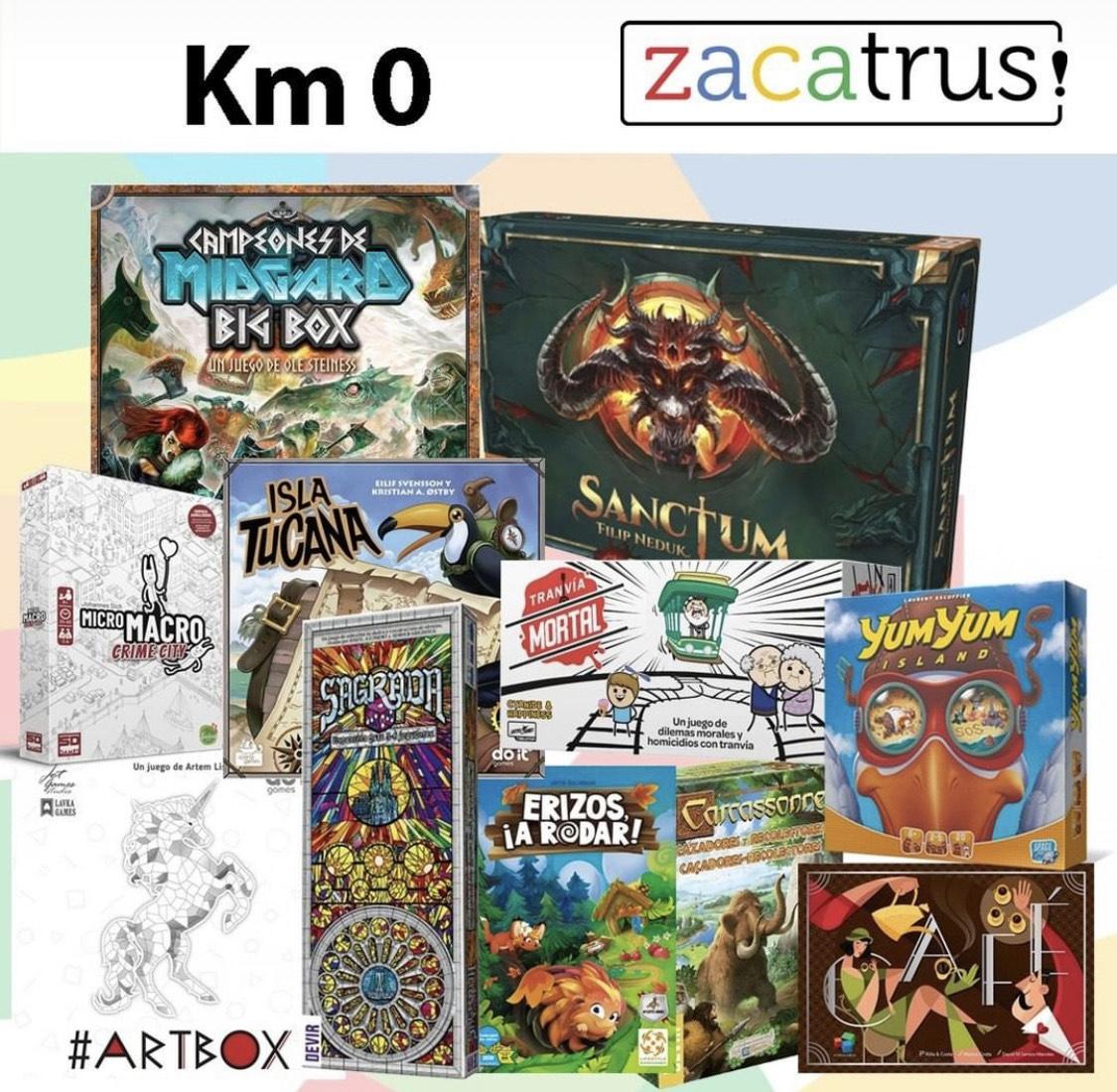 Juegos de mesa Kilometro 0 Zacatrus