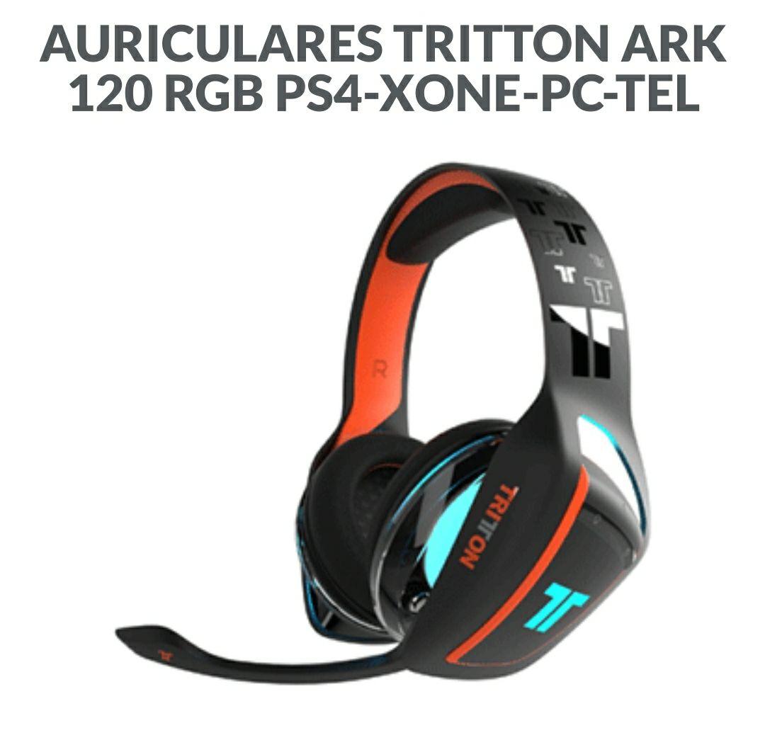 Auriculares Tritón Ark 120 rgb