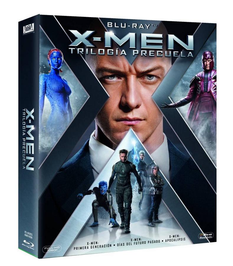 Recopilación de trilogías Blu-ray en Amazon por 10,49€ (X-Men, Star Trek, Resident Evil, Insidious, Bridget Jones, Planeta de los Simios...