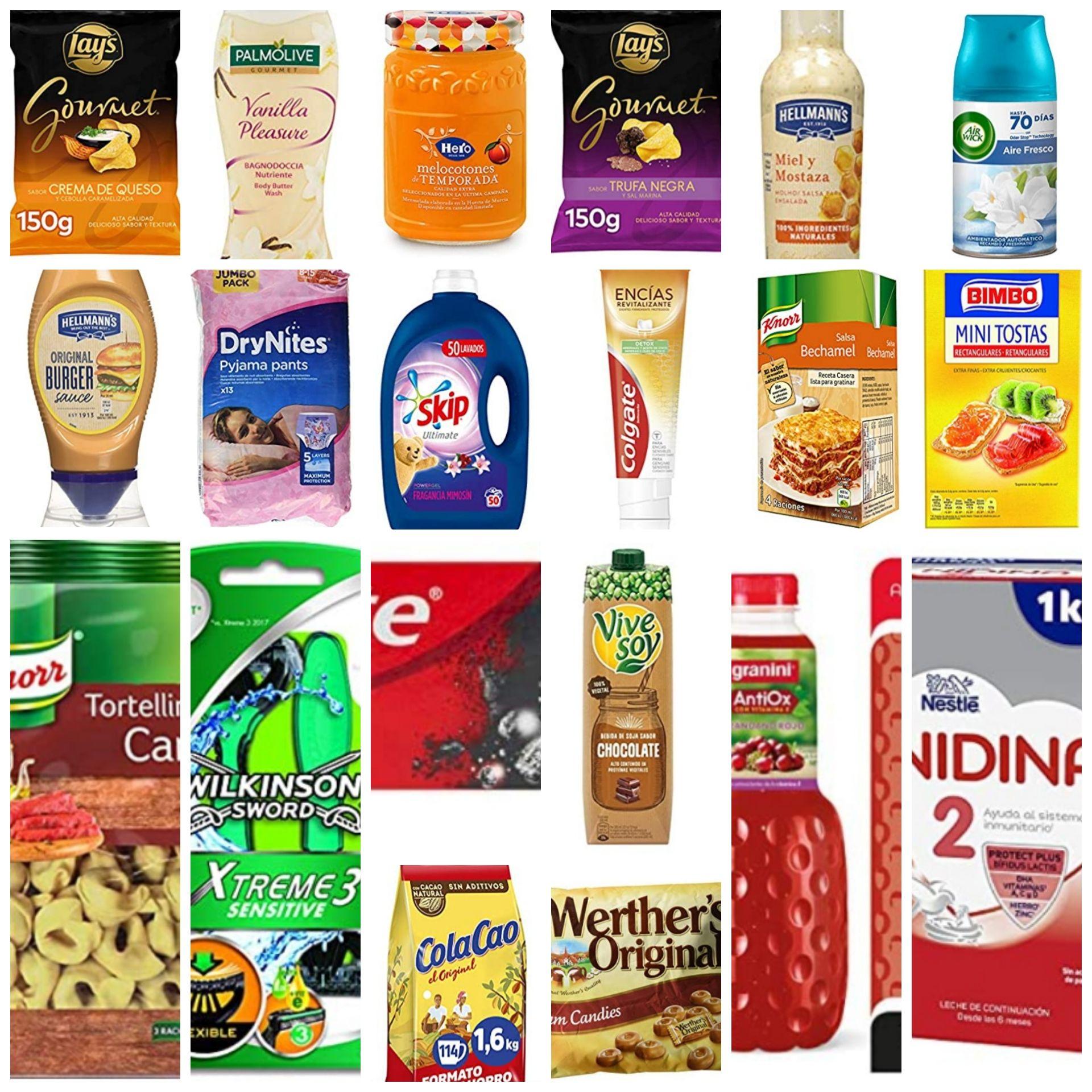 Recopilatorio 3x2 en productos de Supermercado Amazon