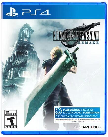 Final Fantasy VII Remake (PS4, Físico, AlCampo Mallorca)
