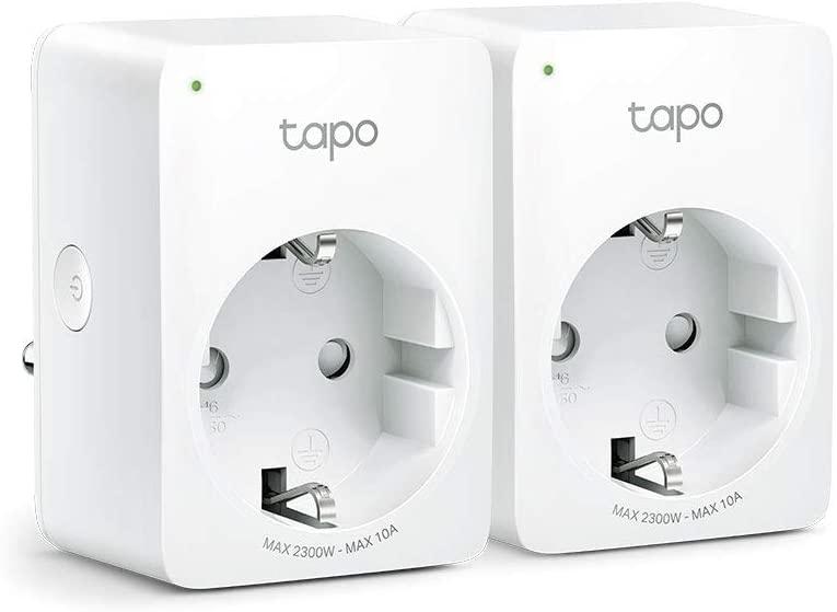 Enchufes Inteligentes 2 x TP-Link Tapo P100