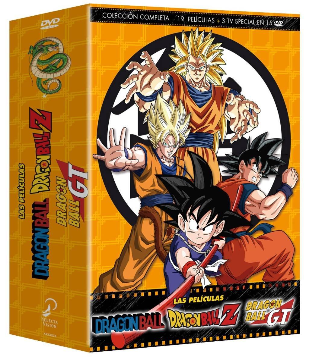 Dragon Ball. Dragon Ball Z Las Películas Colección Completa - DVD