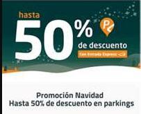 Hasta 50% en parkings con Telpark
