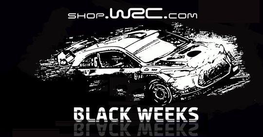 Black Friday en la tienda de WRC