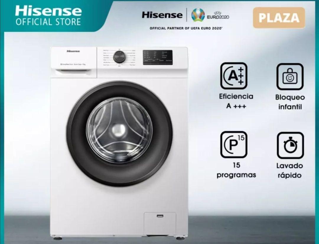 Hisense WFVC6010E Lavadora de ropa,6KG capacidad de carga