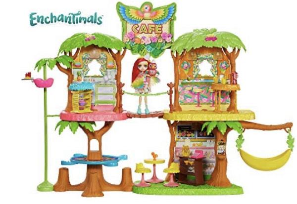 Enchantimals Supercafé de la selva mágica