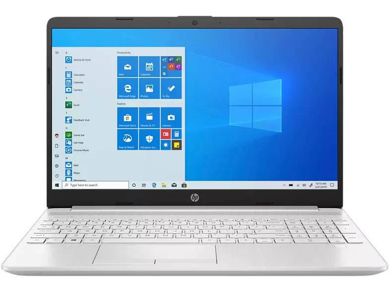 "Portátil - HP 15-dw1028ns, 15.6"" FHD, Intel® Core™ i5-10210U, 8 GB, 512 GB SSD, W10 Home, Plata"