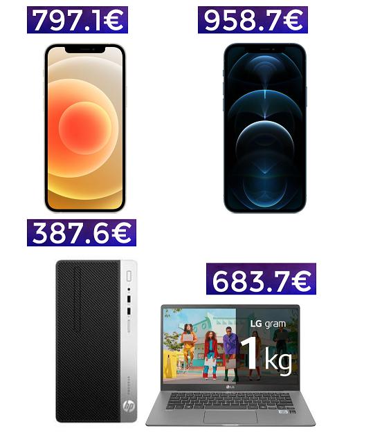 BF en Konokono: iPhone 12 128GB por 797€ // iPhone 12 PRO 958€ y 200 artículos rebajados