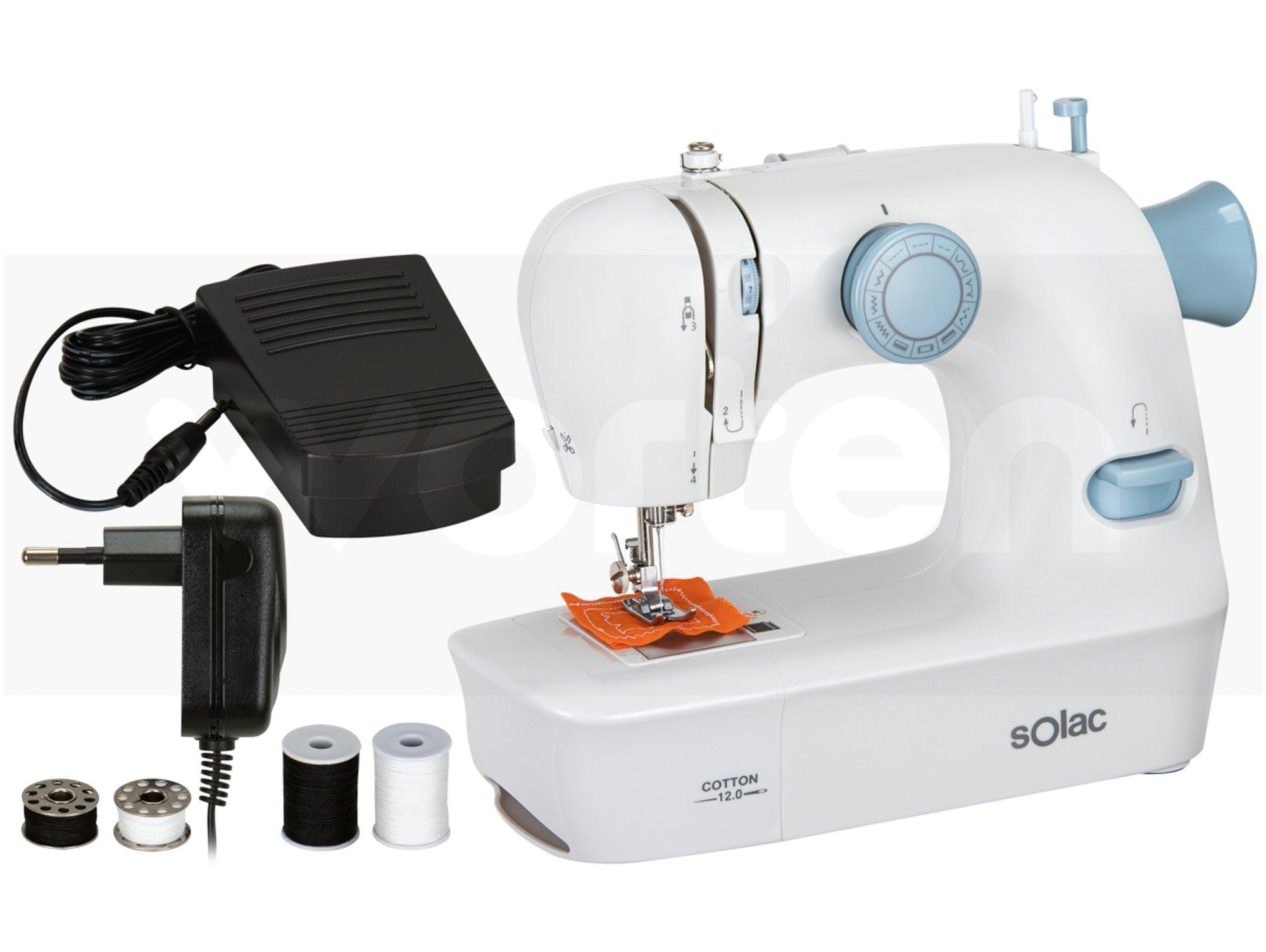 Máquina de coser SOLAC para las más manitas