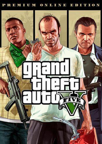 Grand Theft Auto V: Premium Online Edition Rockstar Games Launcher Key GLOBAL Eneba