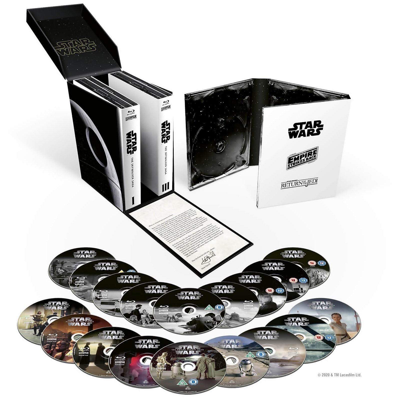 BLURAY Saga Completa STARWARS 9 Películas+9 discos extra SkywalkerSaga