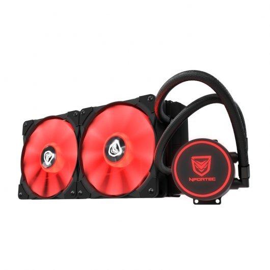 Nfortec Hydrus V2 240 Red Kit de Refrigeración Líquida