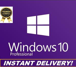 Clave Windows 10 Professional 32 & 64 bits