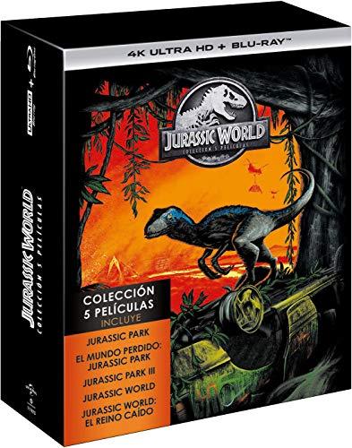 Parque Jurasico 4k+ Bluray todas las películas 1-5