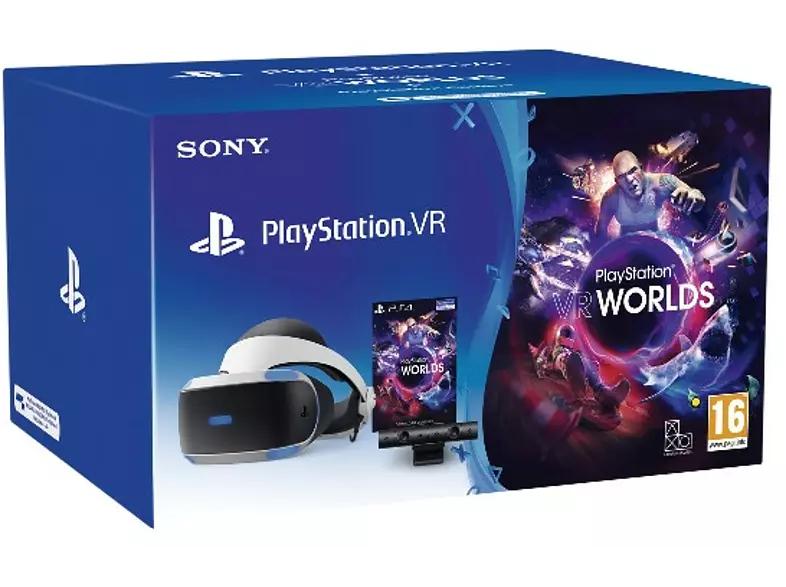 Sony PlayStation VR, Cámara V2 + PS4 VR Worlds