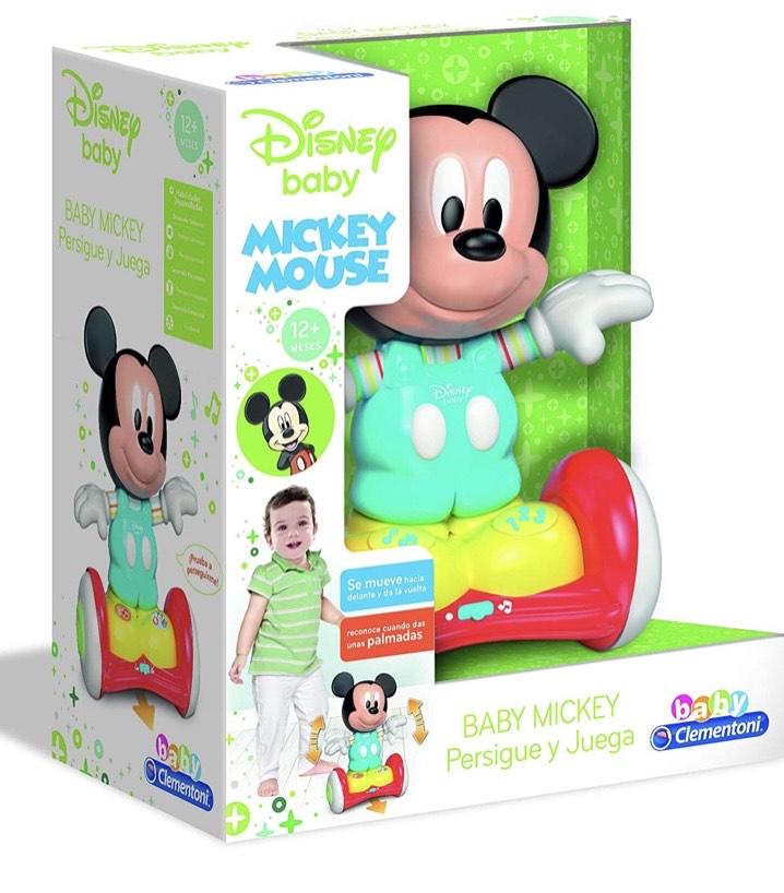 Baby Disney - Mickey con Hoverboard, persigue y juega