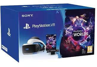 PSVR, Cámara V2 + PS4 VR Worlds (Descarga) - Mediamarkt