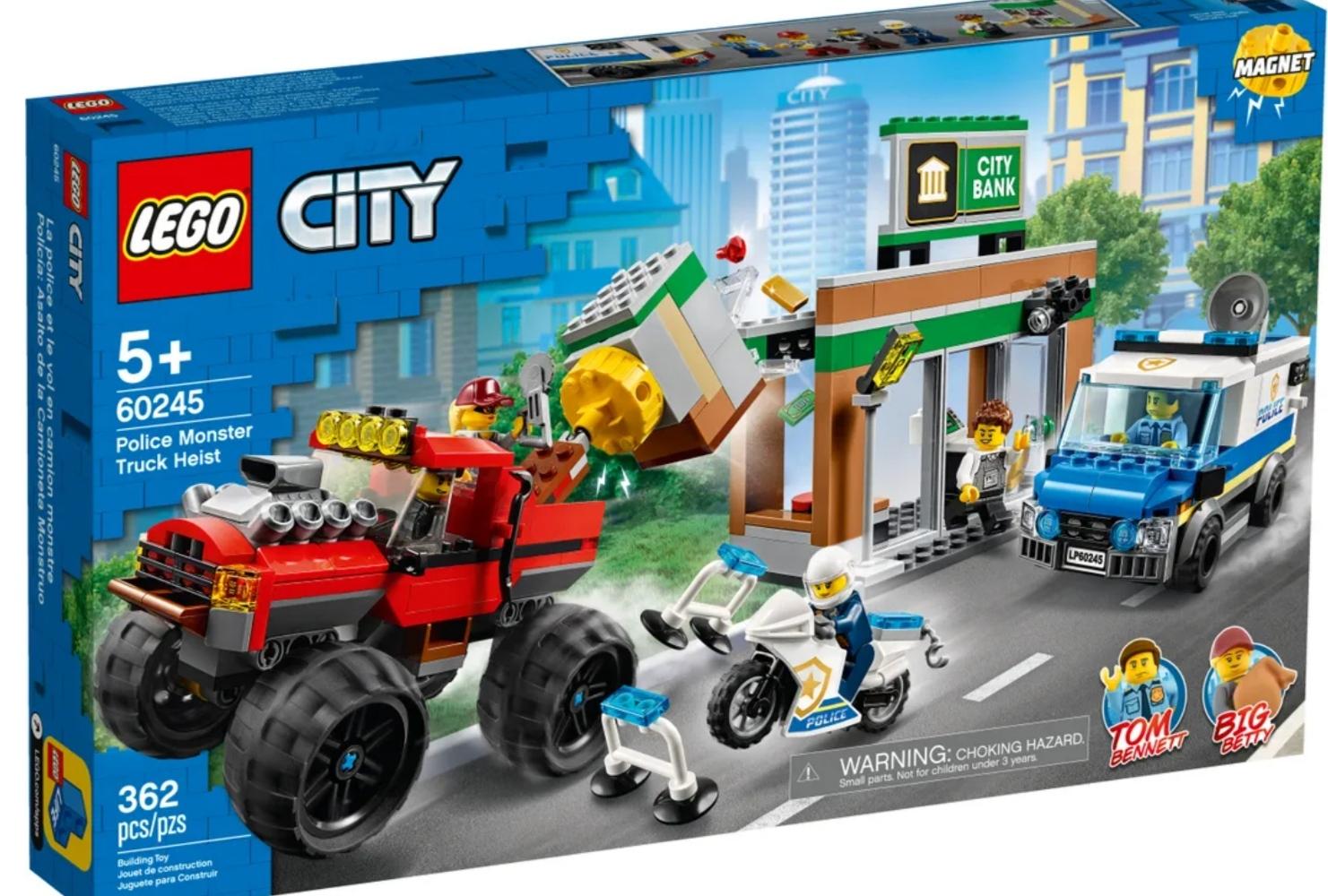 Lego City Policía: Atraco del Monster Truck