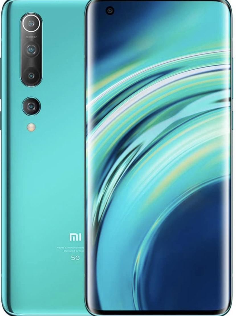 AMAZON Xiaomi Mi 10 - Smartphone 128GB, 8GB RAM, Coral Green
