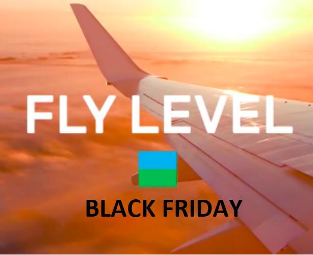 (Barcelona) FlyLevel Vuelos baratos por Black Friday
