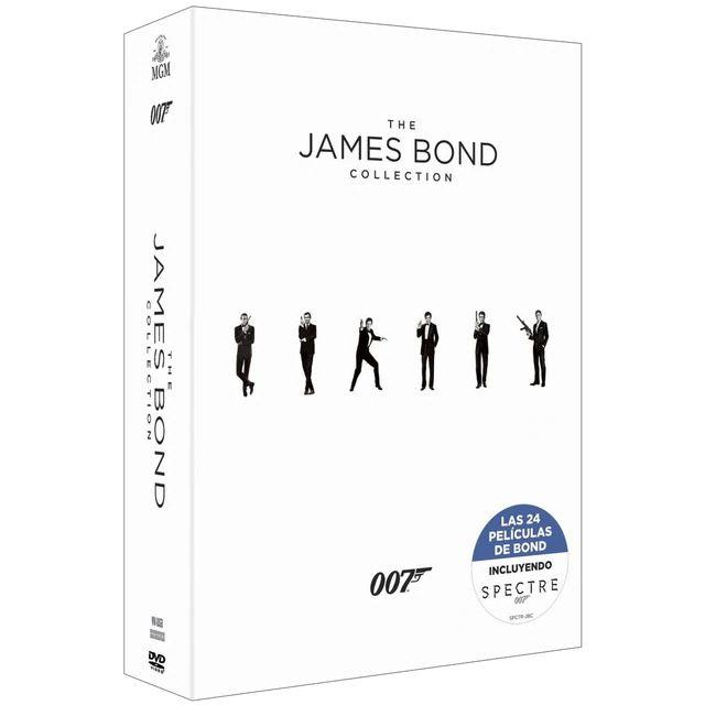PACK JAMES BOND: COLECCIÓN COMPLETA (INCLUYE SPECTRE) (DVD)