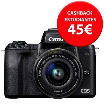 Canon EOS M50 Negra + EF-M15-45mm