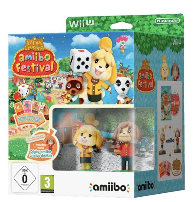 Animal Crossing: Amiibo Festival 2 figuras y 3 cartas