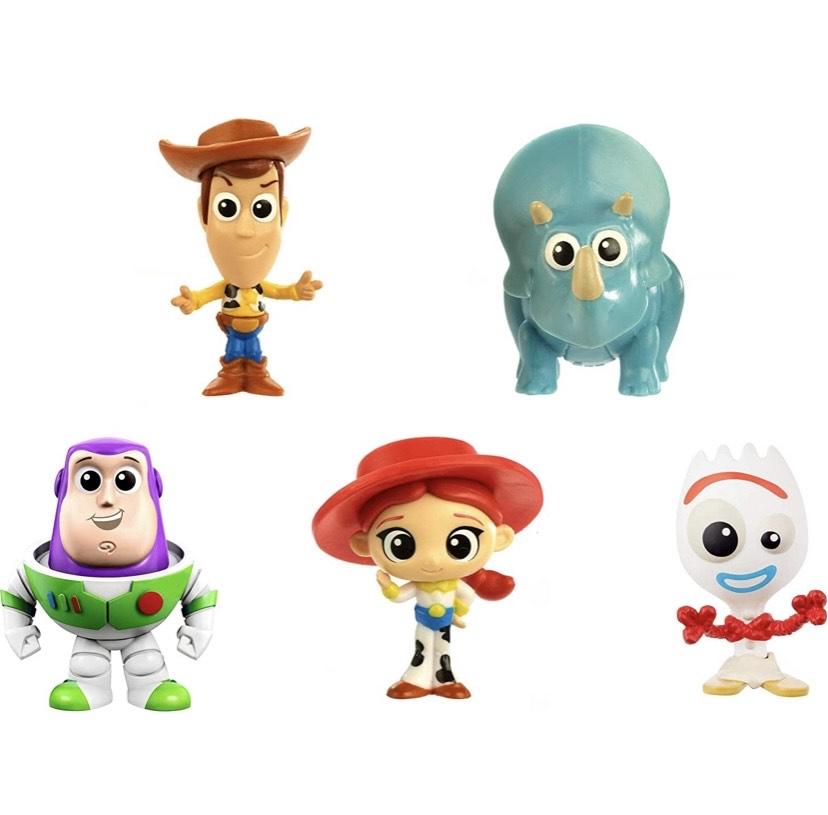 Disney Toy Story 4 Pack de 5 Mini Figuras de la Película