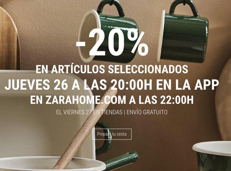 -20% en Zara Home