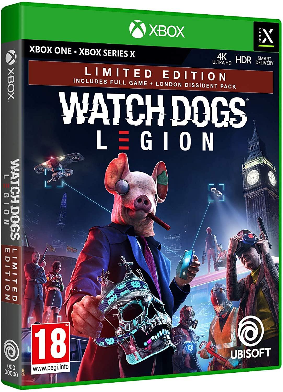 WATCH DOGS LEGION XBOX Y PS4