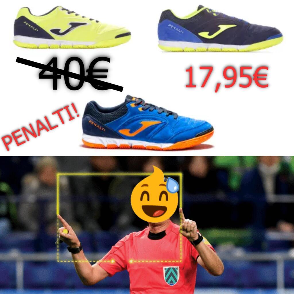 Joma Botas Futbol Sala Penalti a 17,95€!