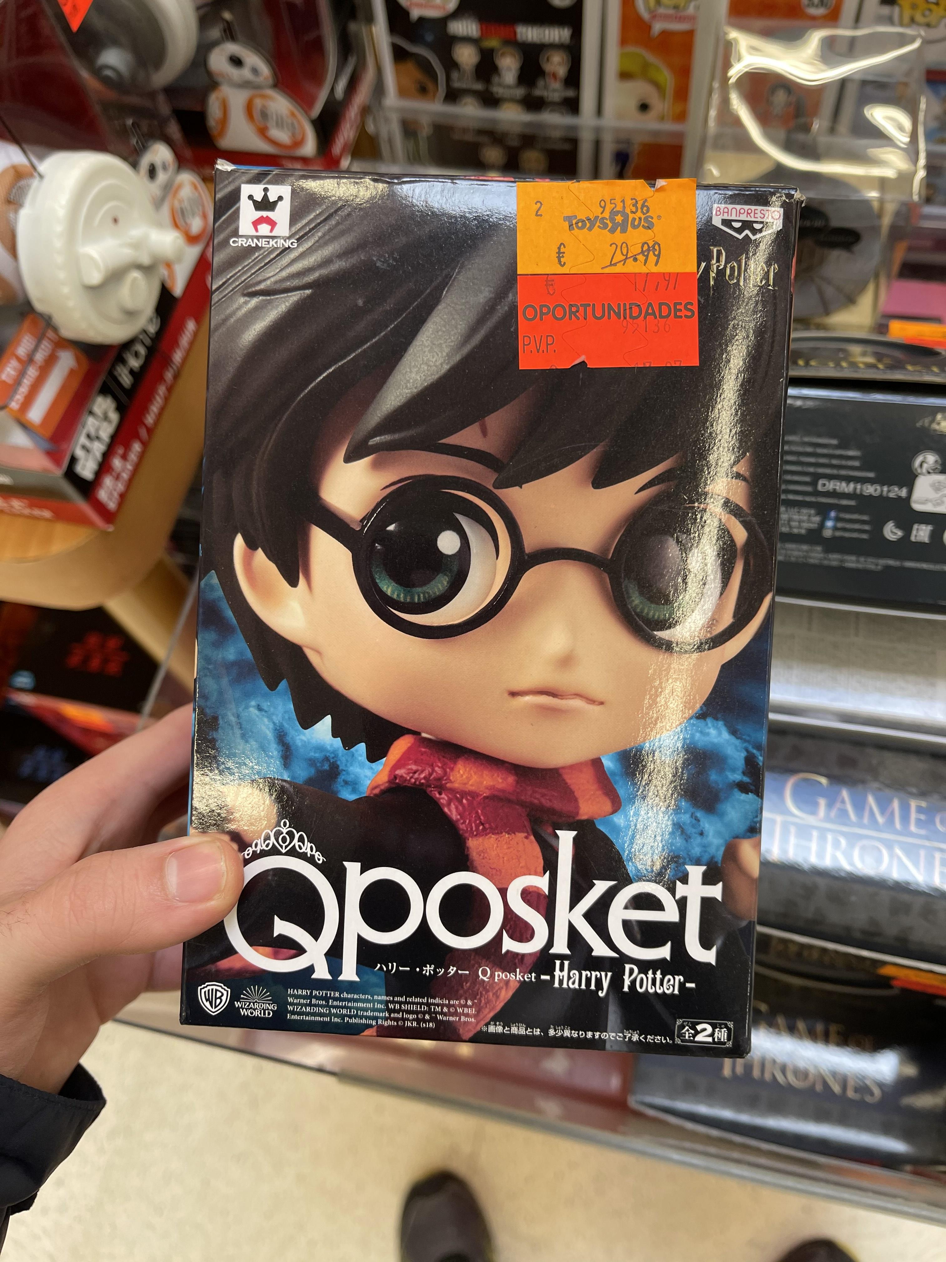 Figura QPosket, Harry Potter (Toys R' Us, Atalayas Murcia)