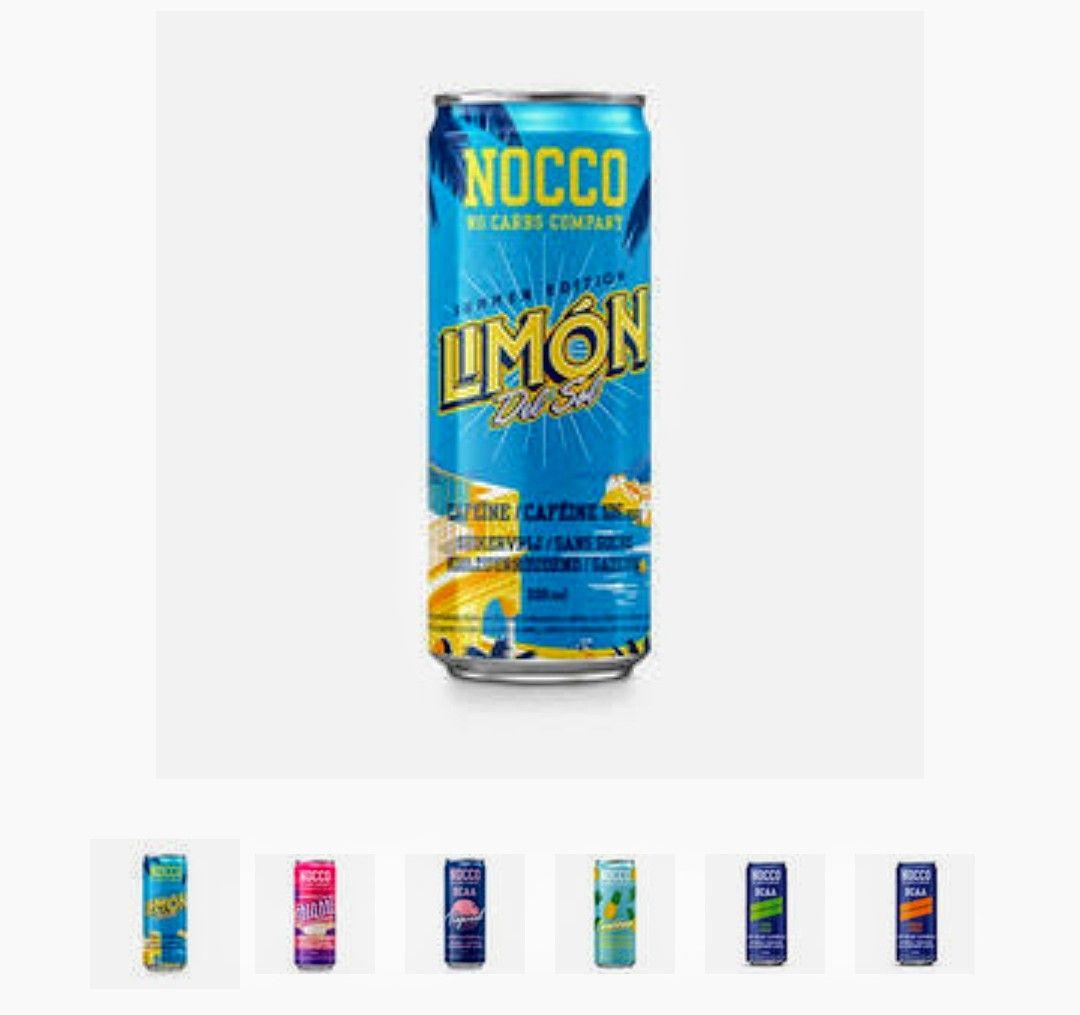 12x Nocco BCAA Drink