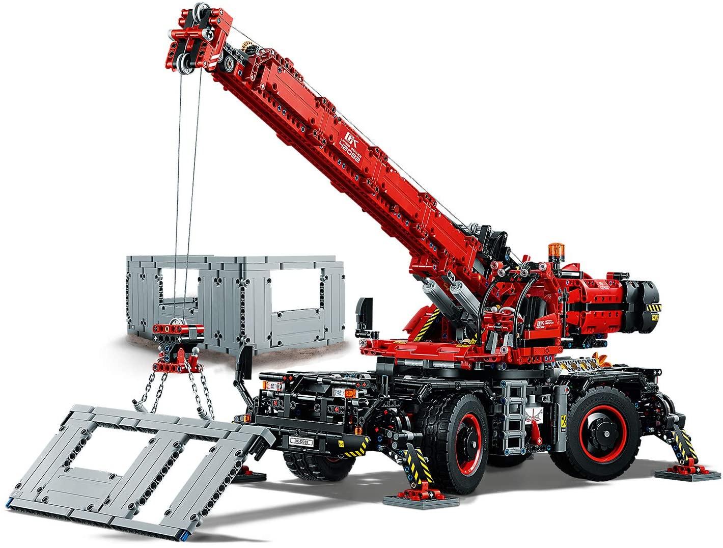 LEGO Grúa todoterreno Technic (42082) + Set homenaje Charles Dickens (regalo)