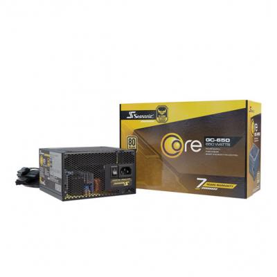 PSU Seasonic CORE GM-650 80+Gold Semi Modular