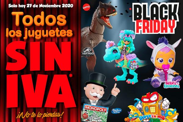 juguetes sIn IVA en Juguetilandia