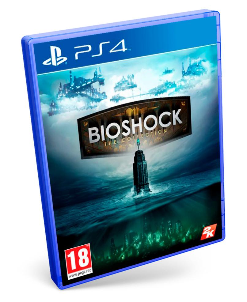 PS4: Bioshock: The Collection (formato físico). Incluye BioShock, BioSchock 2 y BioShock Infinite remasterizados + todos los DLCs