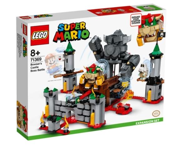Castillo de Bowser, set expansión Lego Mario Bros