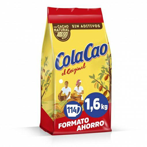 3 paquetes de 1600g ColaCao Original: con Cacao Natural y sin Aditivos 3x2