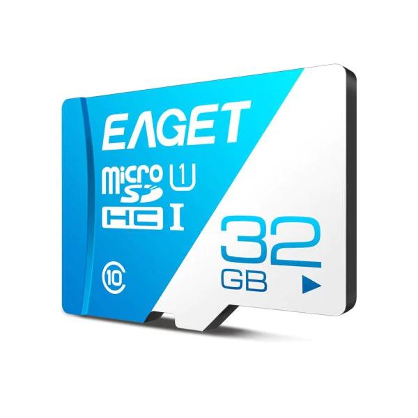 Tarjeta Eaget T1 32 GB SD a un buen precio de 6.8 EUR