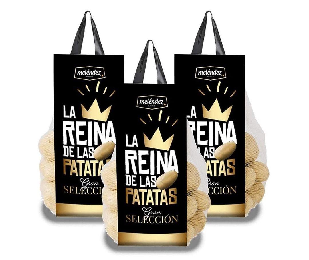 Patata Premium LA REINA Gran Selección 9Kg.   3 mallas de 3Kg.