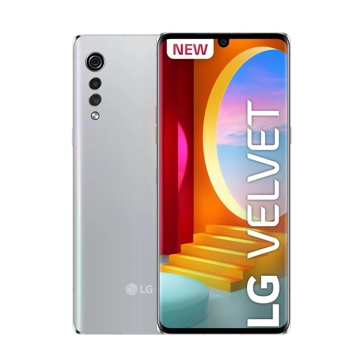 LG Velvet 6 GB + 128 GB aurora silver 4G