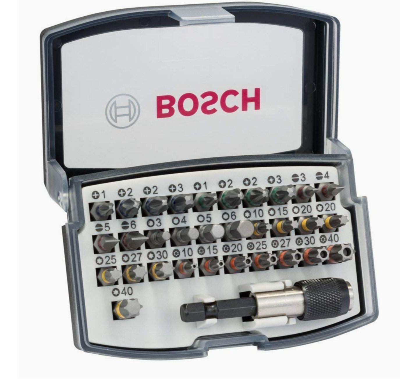 Bosch Professional 2607017319 Set de 32 Unidades para atornillar